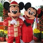 世界でミッキーマウスに会える場所♪
