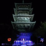 お坊さんが歌う声明コンサートとマナー☆備中国分寺(岡山五重塔)