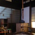 囲炉裏があるカフェ せせらぎ (子どもOK) ~津山城東むかし町