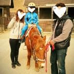 忍者ホーススクールで乗馬体験500円☆ノースヴィレッジ