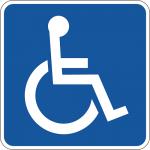 車椅子マークの障がい者用駐車場に安易に停めるバカ