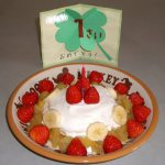 オーブン・卵・小麦粉を使わない超簡単1歳の誕生日ケーキレシピ