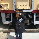 鉄道博物館「津山まなびの鉄道館」旧扇形機関車庫~転車台の動画あり
