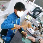 国産鹿革でオリジナルキーホルダー作り☆3歳からOK☆35R・ココチ in 湯郷