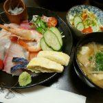 幸村(ゆきむら)で海鮮丼 in 津山市