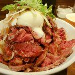 ビフトロ櫓で山盛りローストビーフ丼! in 津山市
