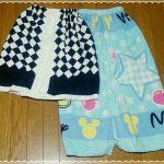 水着に着替えるときに便利な巻きタオルの作り方