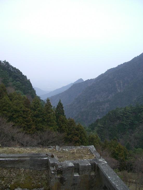 東洋のマチュピチュ「別子銅山跡地」からの風景