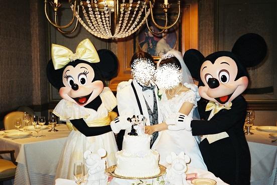 ミッキーミニーと結婚式
