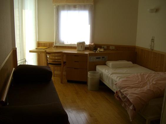 産婦人科の個室