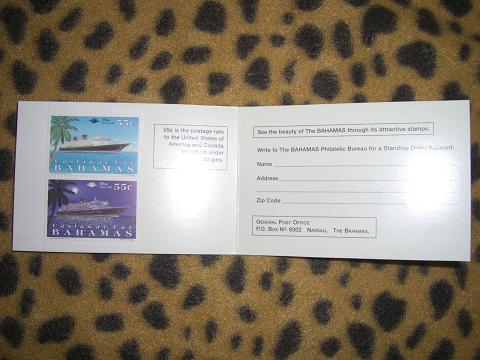 ディズニーのプライベートアイランド「キャスタウェイケイ」限定の切手