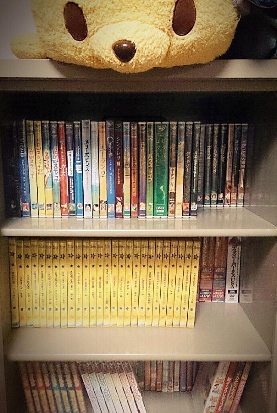 ディズニーの映画(DVD)