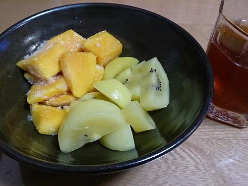 フルーツと酵素ドリンク