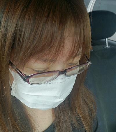 マスクには抗菌スプレー