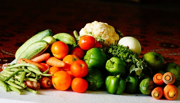 山盛り野菜