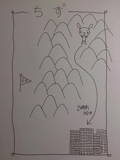 田舎の地図