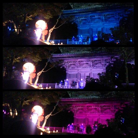 備中国分寺(岡山五重塔)でのコンサート