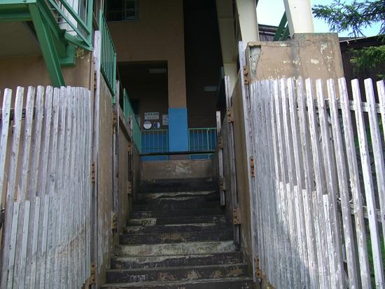 石鎚山のロープウェイ山頂成就駅