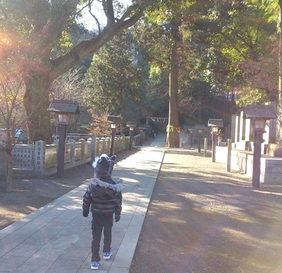 石鎚神社本社の境内