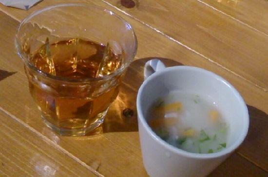 Globe cafe(グローブカフェ)のスープ