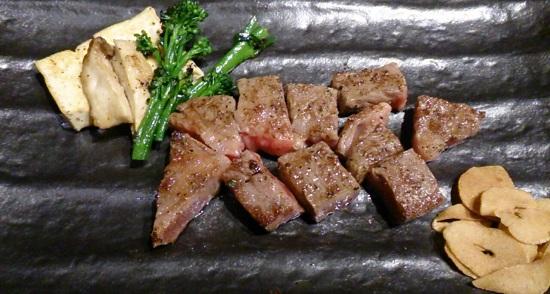 ステーキ&ワインのお店Bocciのステーキ