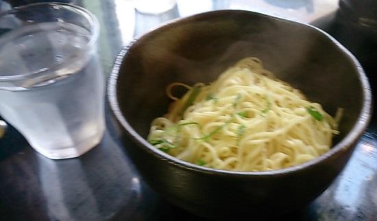 麺屋 誠のラーメン(替え玉)
