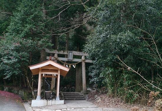 金持神社(鳥取県日野町)