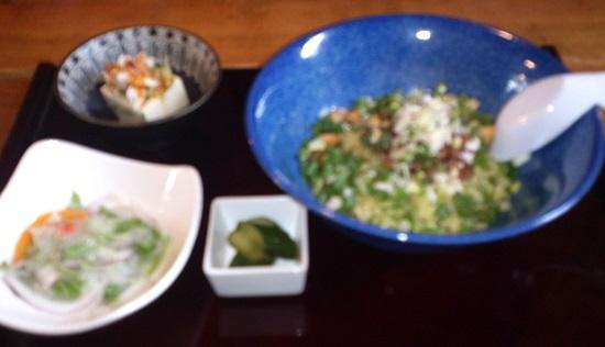 台湾料理「花とら」のランチ