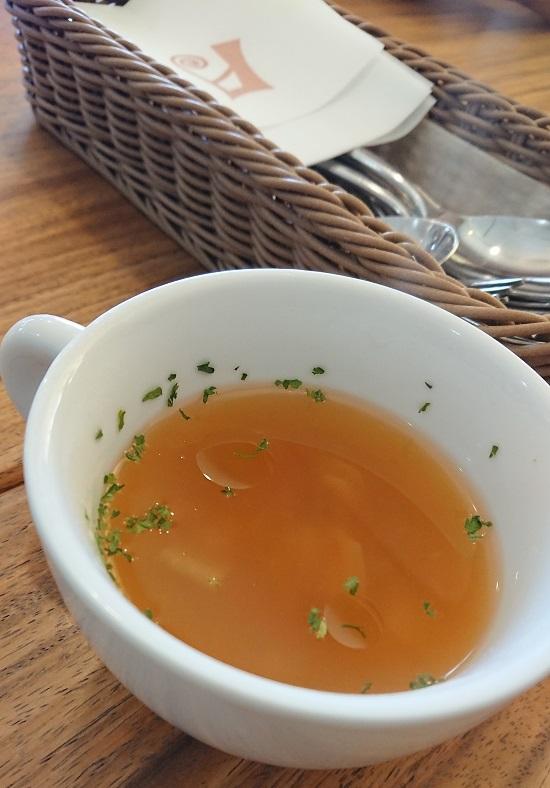 アムールアリエ(amour ALLIER)のスープ