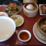 中華・神龍(シェンロン)で飲茶お粥ランチ(津山市)