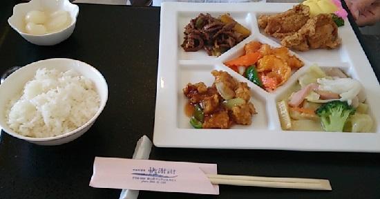 中華料理(快謝謝)のランチ