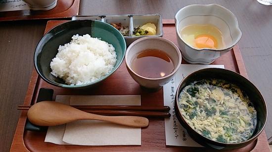 大江ノ郷自然牧場ココガーデンの限定たまごかけご飯