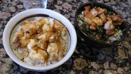 回転寿司「鮨屋びっぐ」食べ放題のミニ丼
