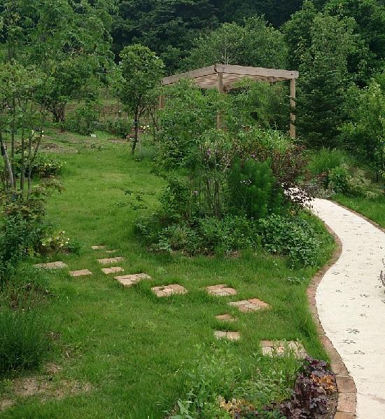 大江ノ郷自然牧場ココガーデンのガーデン(庭)