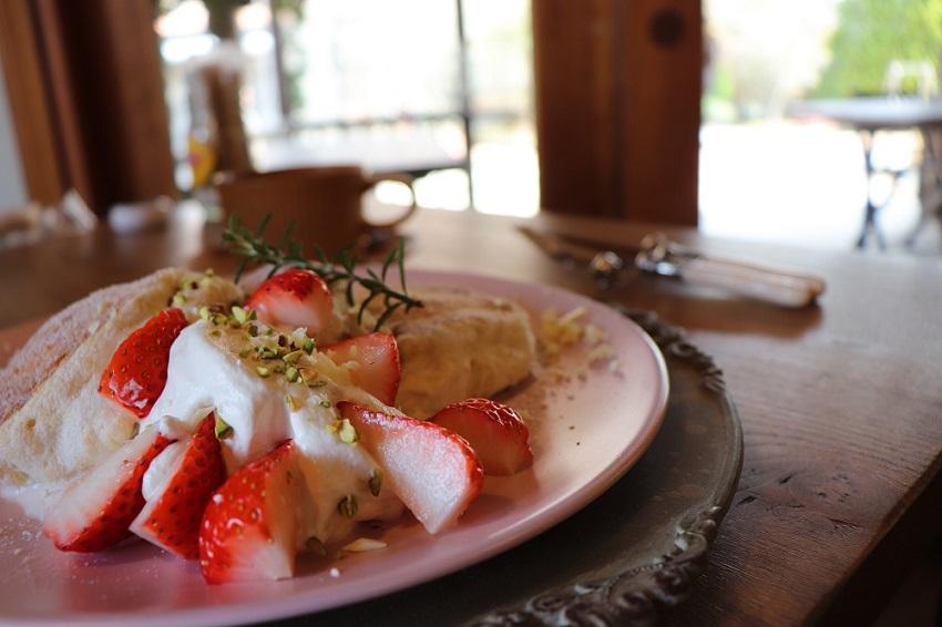 Cafe Livro(カフェリブロ)パンケーキ