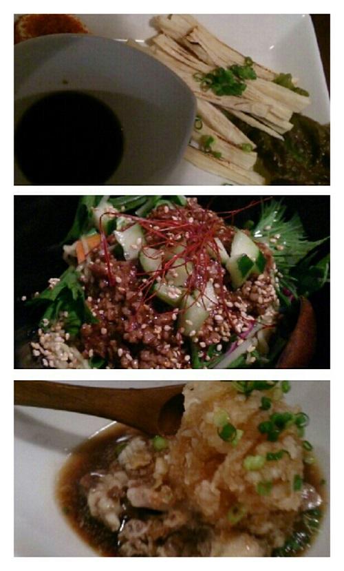肉ビル憩い屋「颯花(そうか)」の料理
