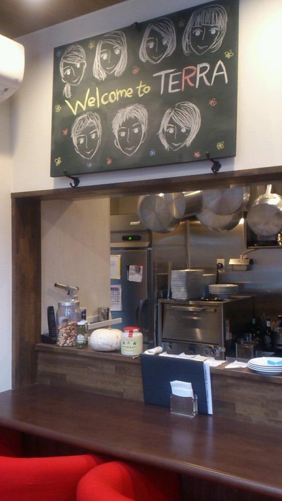 Okayama Table TERRA(イタリア料理)の店内