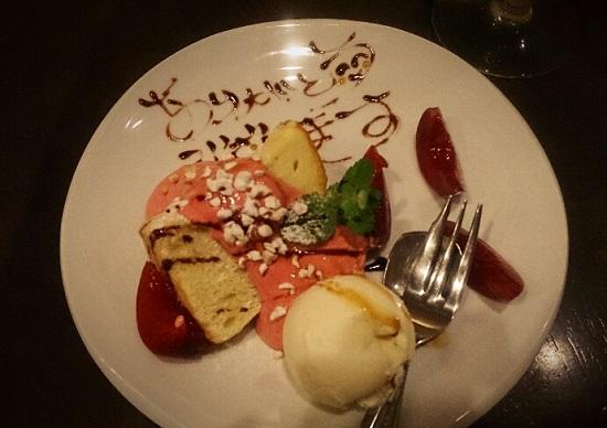 Okayama Table TERRA(イタリア料理)ディナー(デザート)