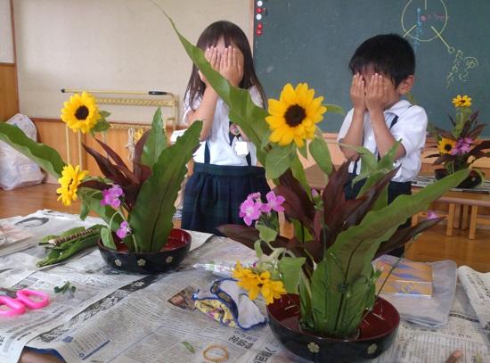 子供の生け花教室