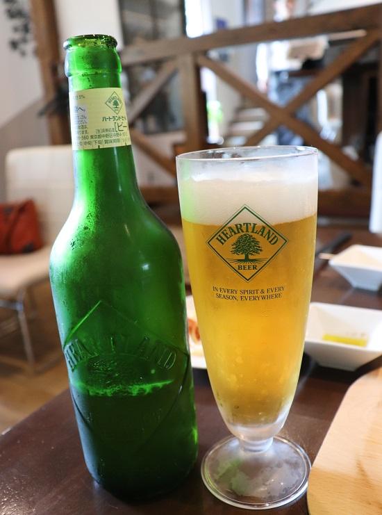 TERRA(テラ)ランチのビール