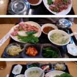 キムチ&珍味本場やまもとで七輪炭火焼肉ランチ in 津山市