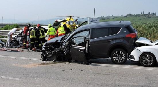 車の交通事故