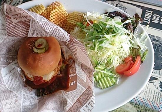 DINER POP(ダイナーポップ)のハンバーガー