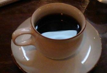 老舗ジャズ喫茶邪美館のコーヒー