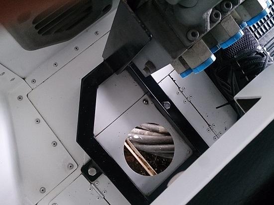 岡山県津山市久米の里のガンダムのエンジン