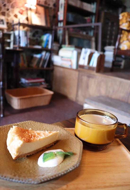 田町文化ストアのチーズケーキ