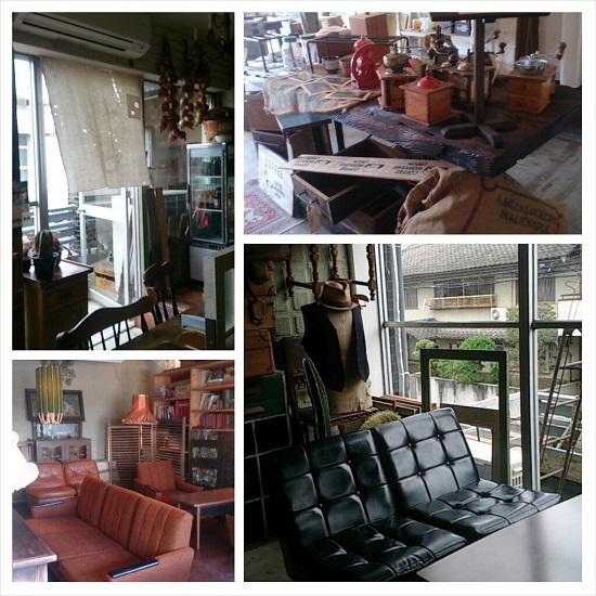 田町文化ストアstoreのランチ店内おしゃれ家具