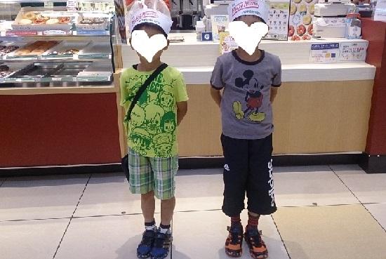 クリスピークリームドーナツの帽子