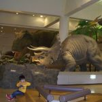 愛媛県総合科学博物館①動く恐竜と不思議体験・実験(子供無料)新居浜市