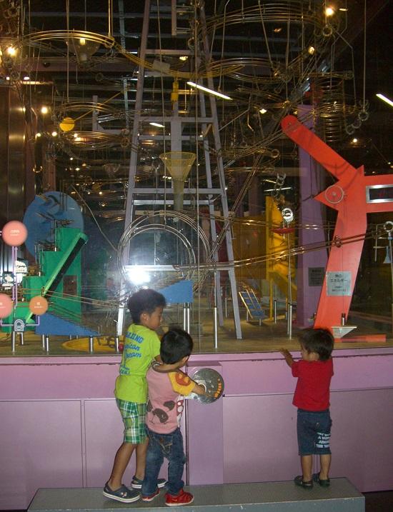 愛媛県総合科学博物館の科学技術のカラクリ